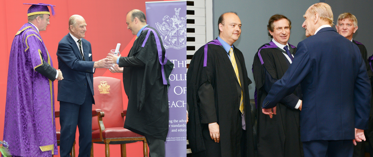PSTT Director receives Honorary Fellowship of the College of Teaching